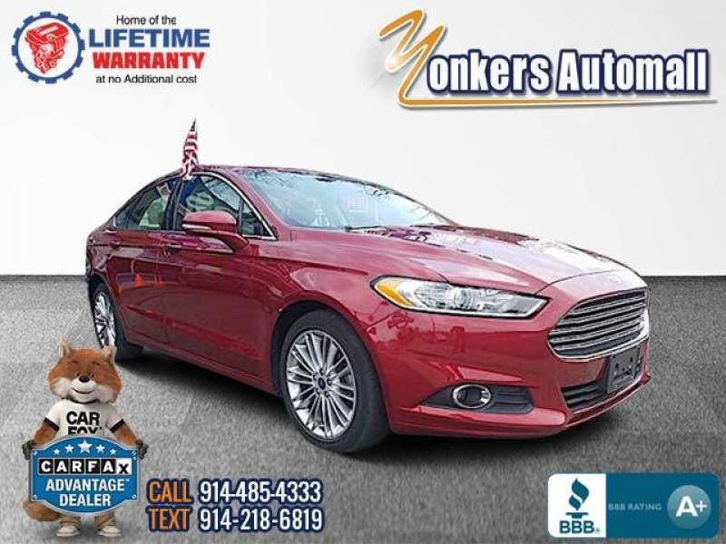 Used Pre Owned 2016 Ford Fusion 4dr Sdn Se Fwd Bronx Ny