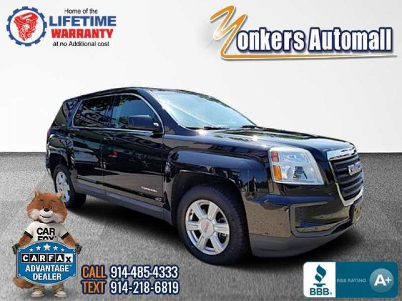 Used/Pre-Owned 2016 GMC TERRAIN Stock #349817ya | Yonkers
