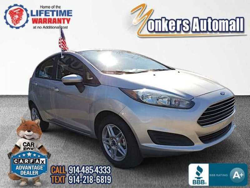 Used Pre Owned 2017 Ford Fiesta Se Hatch Bronx Ny
