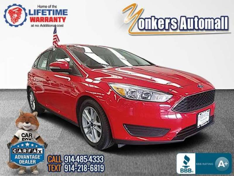 Used Pre Owned 2017 Ford Focus Stock 267134ya Yonkers Automall Near Bronx New Rochelle Ny