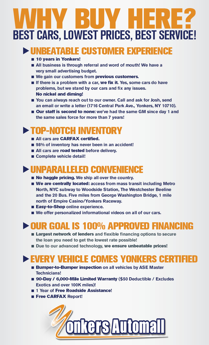 westchester county preowned financing