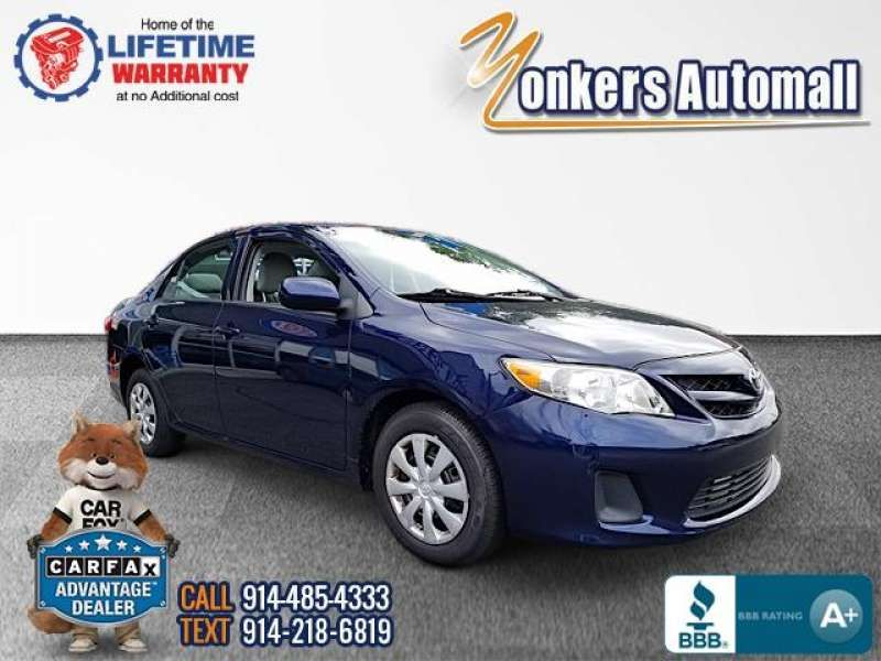 Used/Pre-owned 2013 TOYOTA COROLLA 4dr Sdn Auto LE (Natl) Bronx,NY