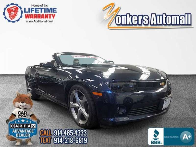 Used/Pre-owned 2014 CHEVROLET CAMARO 2dr Conv LT w/2LT RS Bronx,NY