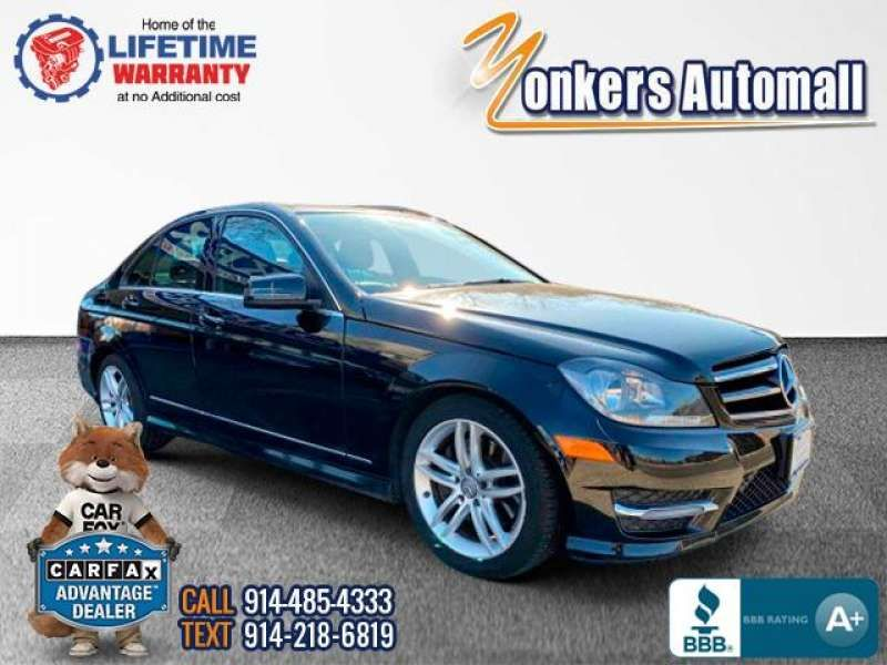 Used/Pre-owned 2014 MERCEDES-BENZ C-CLASS C300 4MATIC Sport Sedan Bronx,NY