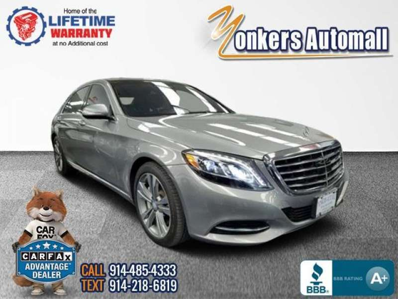 Used/Pre-owned 2014 MERCEDES-BENZ S-CLASS S550 4MATIC Sedan Bronx,NY