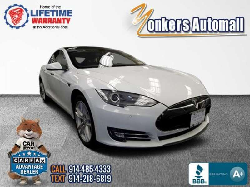 Used/Pre-owned 2014 TESLA MODEL S 4dr Sdn 85 kWh Battery Bronx,NY