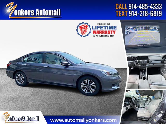 Used/Pre-owned 2015 Honda Accord Sedan 4dr I4 CVT LX Bronx,NY