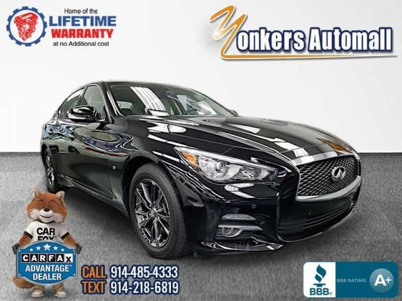 Used/Pre-owned 2015 INFINITI Q50 4dr Sdn Premium AWD Bronx,NY