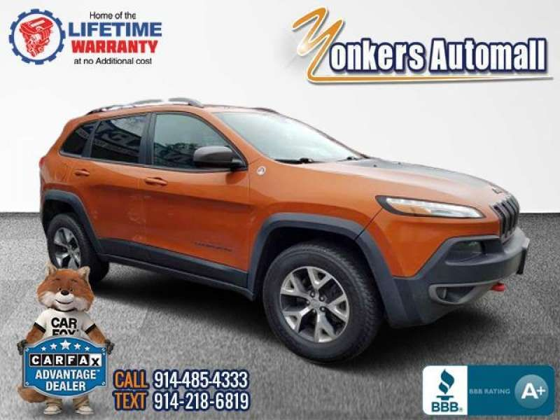 Used/Pre-owned 2015 JEEP CHEROKEE 4WD 4dr Trailhawk Bronx,NY