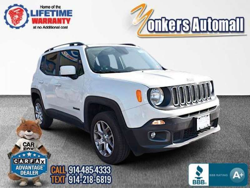 Used/Pre-owned 2015 JEEP RENEGADE 4WD 4dr Latitude Bronx,NY