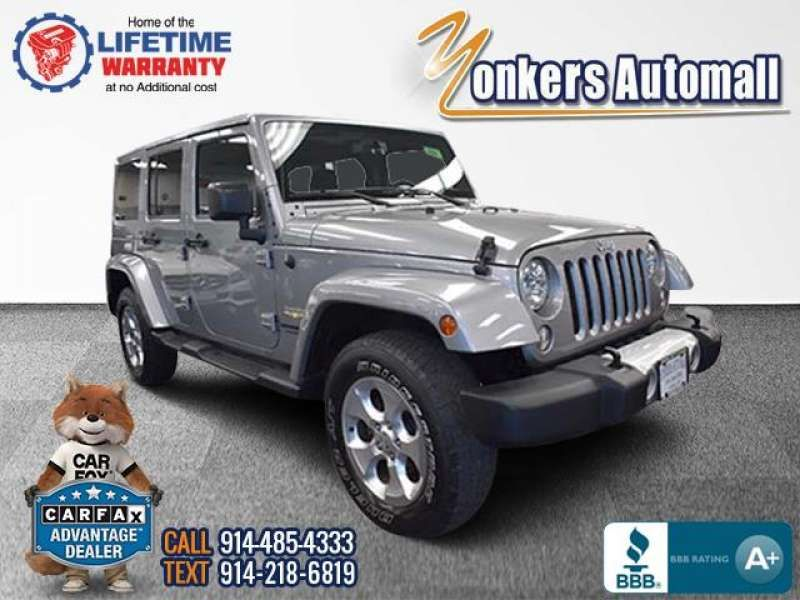 Used/Pre-owned 2015 JEEP WRANGLER UNLIMITED 4WD 4dr Sahara Bronx,NY