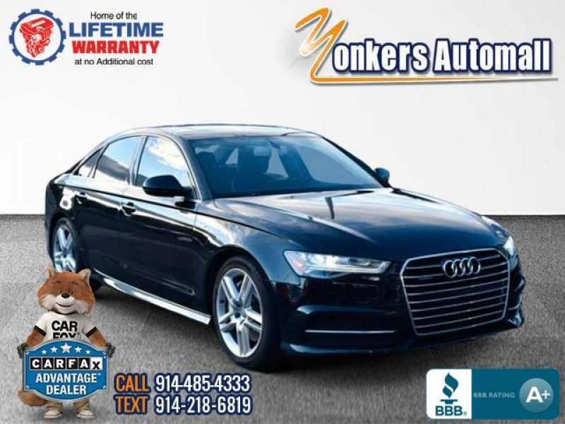 Used/Pre-owned 2016 AUDI A6 4dr Sdn quattro 3.0T Premium P Bronx,NY