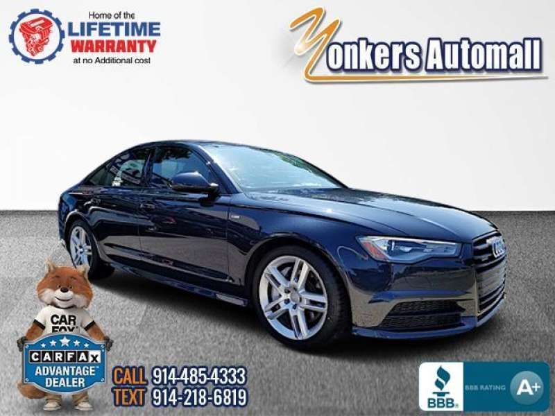 Used/Pre-owned 2016 AUDI A6 4dr Sdn quattro 2.0T Premium Bronx,NY