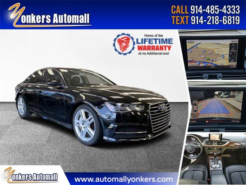 Used/Pre-owned 2016 AUDI A6 Quattro 3.0T Premium Plus Bronx,NY