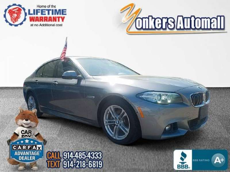Used/Pre-owned 2016 BMW 5 SERIES 528i xDrive AWD MSport Bronx,NY