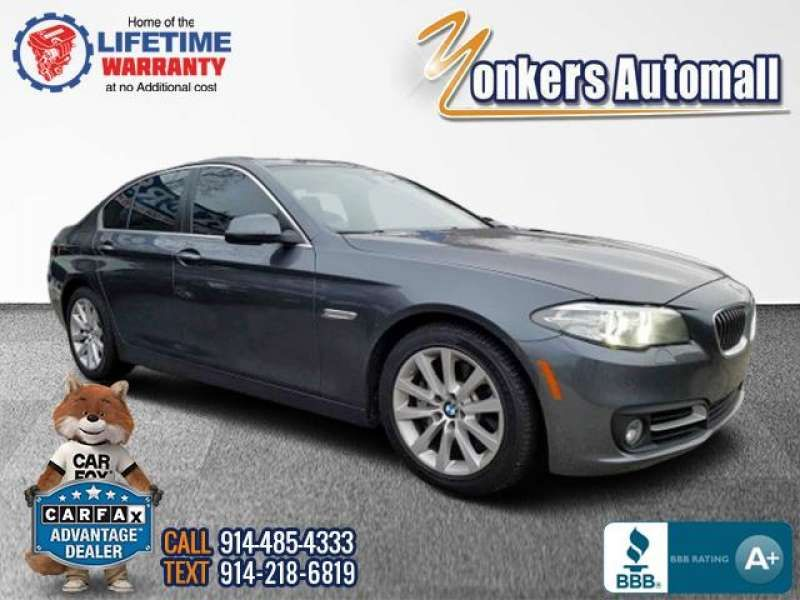 Used/Pre-owned 2016 BMW 5 SERIES 4dr Sdn 535i xDrive AWD Bronx,NY