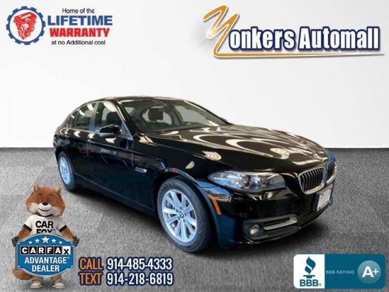 Used/Pre-owned 2016 BMW 5 SERIES 4dr Sdn 528i xDrive AWD Bronx,NY