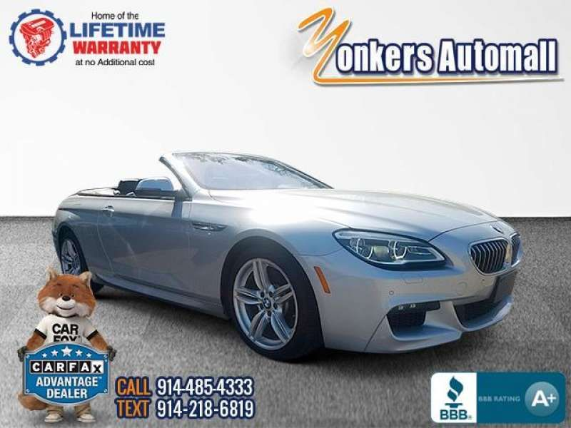 Used/Pre-owned 2016 BMW 6 SERIES Conv 640i xDrive AWD MSport Bronx,NY