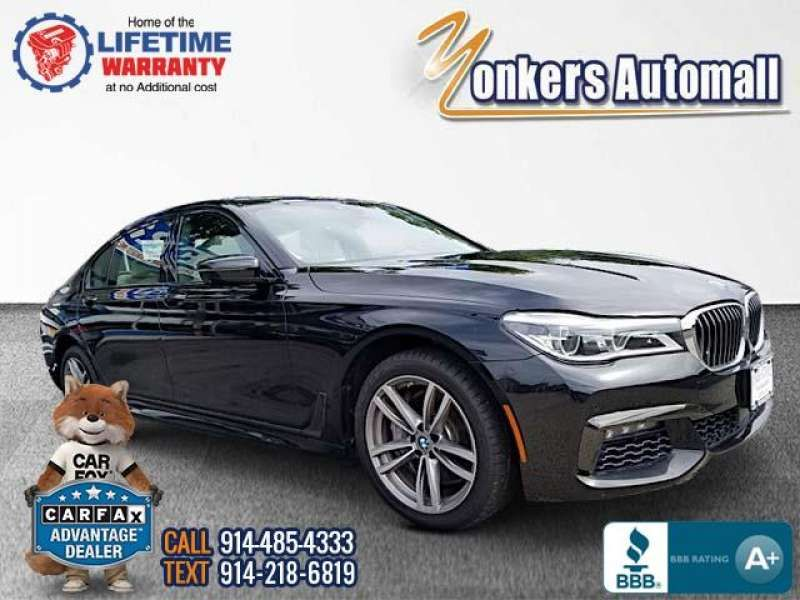 Used/Pre-owned 2016 BMW 7 SERIES 4dr Sdn 750i xDrive AWD Bronx,NY