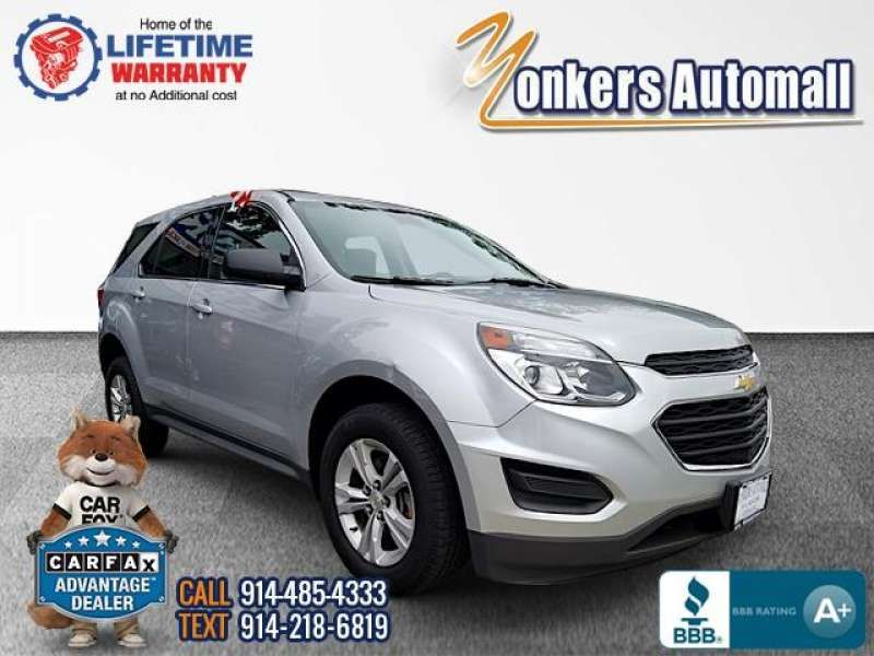 Used/Pre-owned 2016 CHEVROLET EQUINOX AWD 4dr LS Bronx,NY
