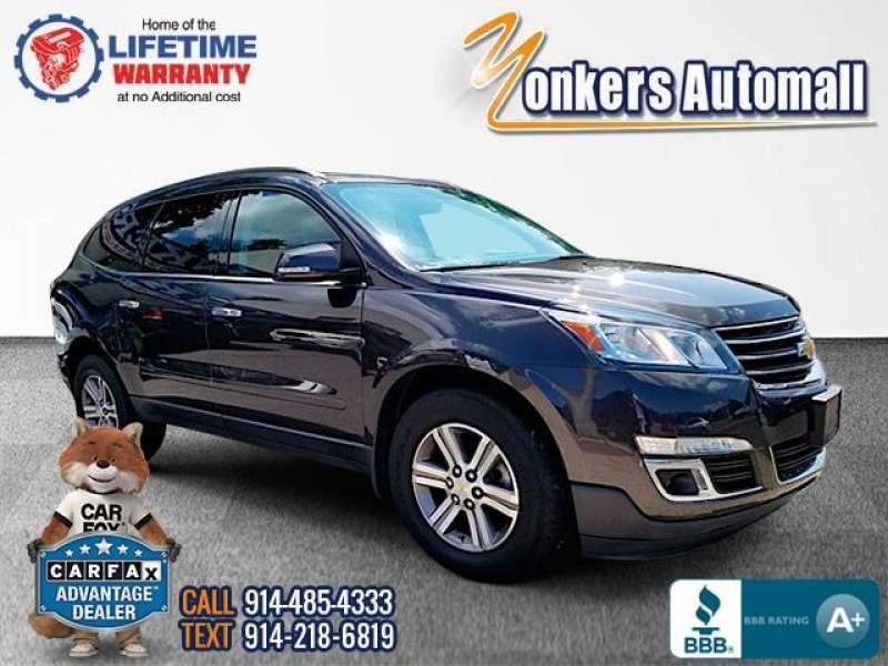 Used/Pre-owned 2016 CHEVROLET TRAVERSE AWD 4dr LT w/2LT Bronx,NY