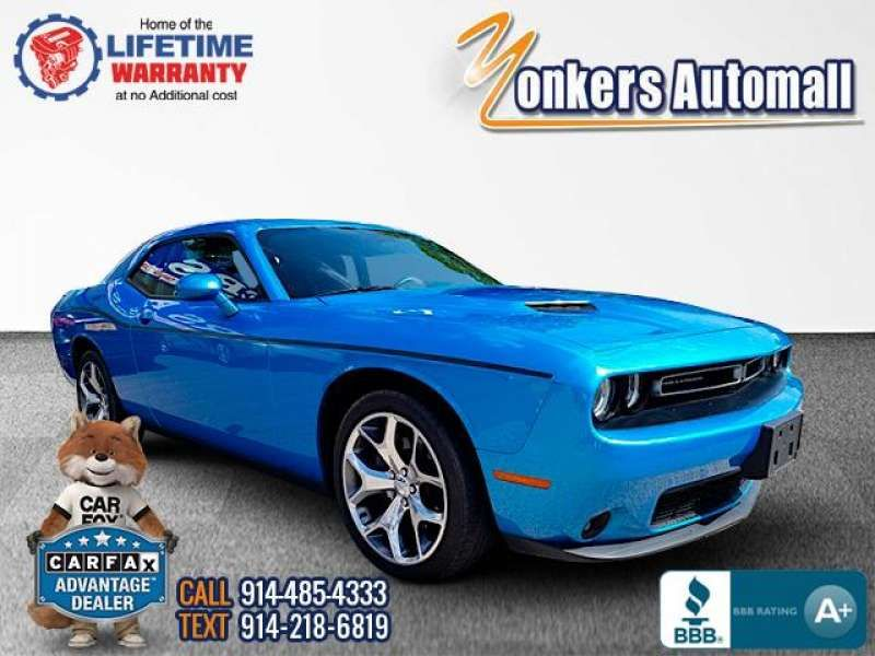 Used/Pre-owned 2016 DODGE CHALLENGER 2dr Cpe SXT Plus with Navi Bronx,NY
