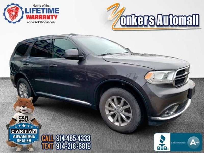 Used/Pre-owned 2016 DODGE DURANGO AWD 4dr SXT Bronx,NY