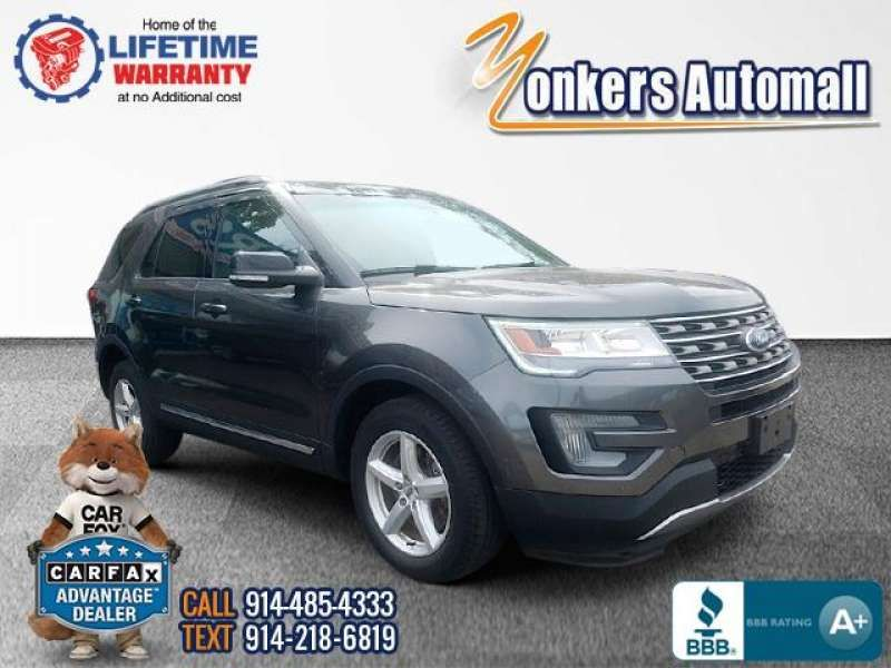 Used/Pre-owned 2016 FORD EXPLORER 4WD 4dr XLT Bronx,NY