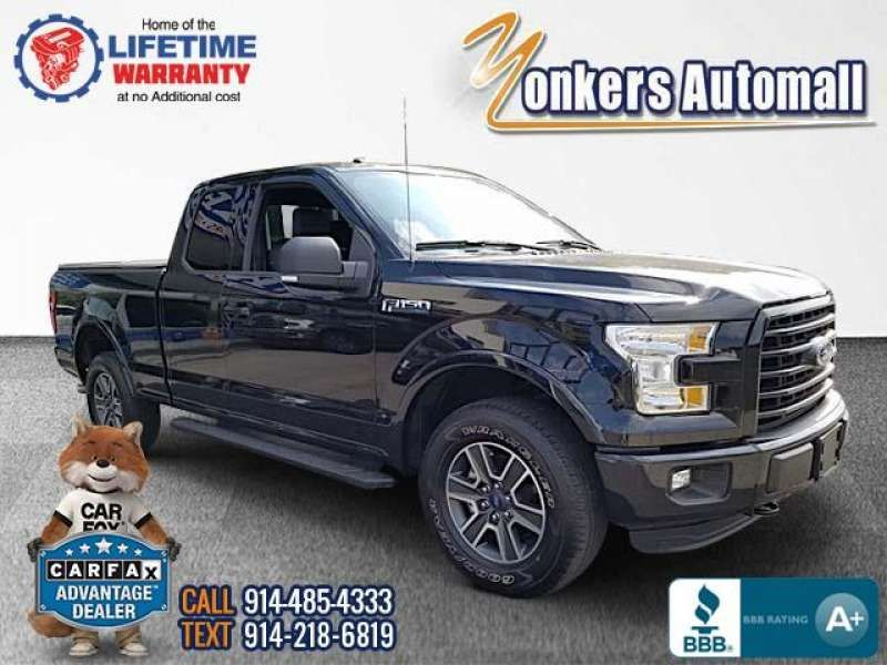 Used/Pre-owned 2016 FORD F-150 4WD SuperCab 145
