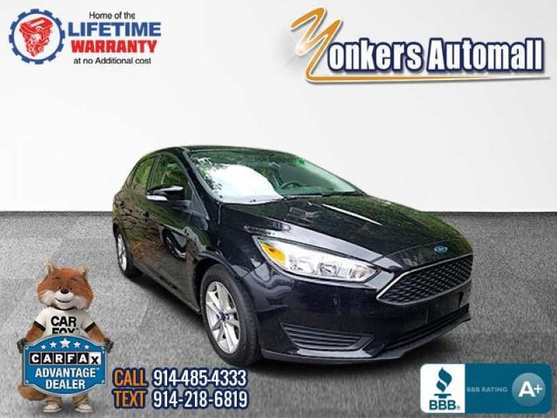 Used/Pre-owned 2016 FORD FOCUS 4dr Sdn SE Bronx,NY