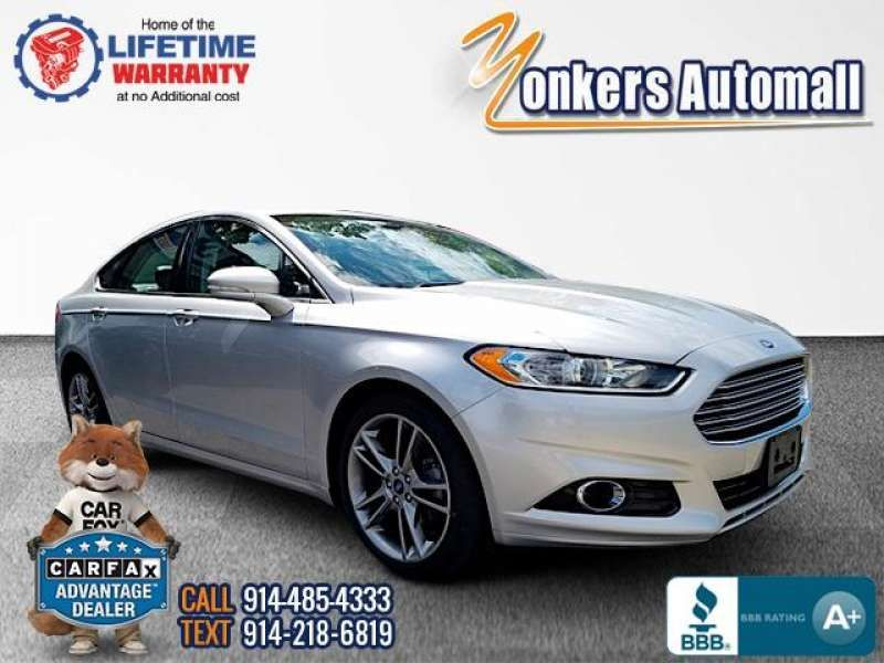 Used/Pre-owned 2016 FORD FUSION 4dr Sdn Titanium FWD Bronx,NY