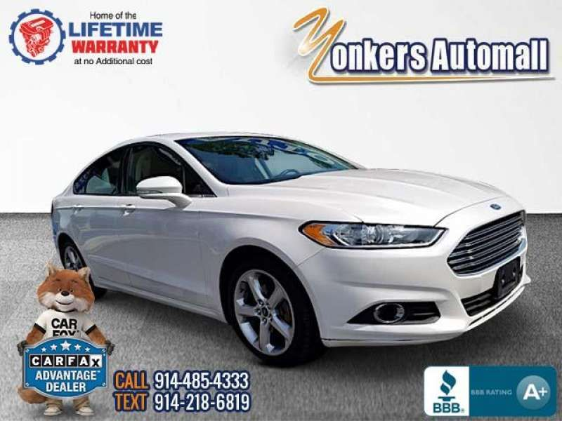 Used/Pre-owned 2016 FORD FUSION 4dr Sdn SE FWD Bronx,NY