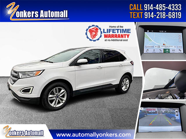 Used/Pre-owned 2016 Ford Edge 4dr SEL AWD Bronx,NY