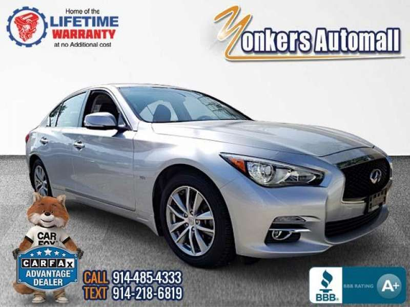 Used/Pre-owned 2016 INFINITI Q50 4dr Sdn 3.0t Premium AWD Bronx,NY