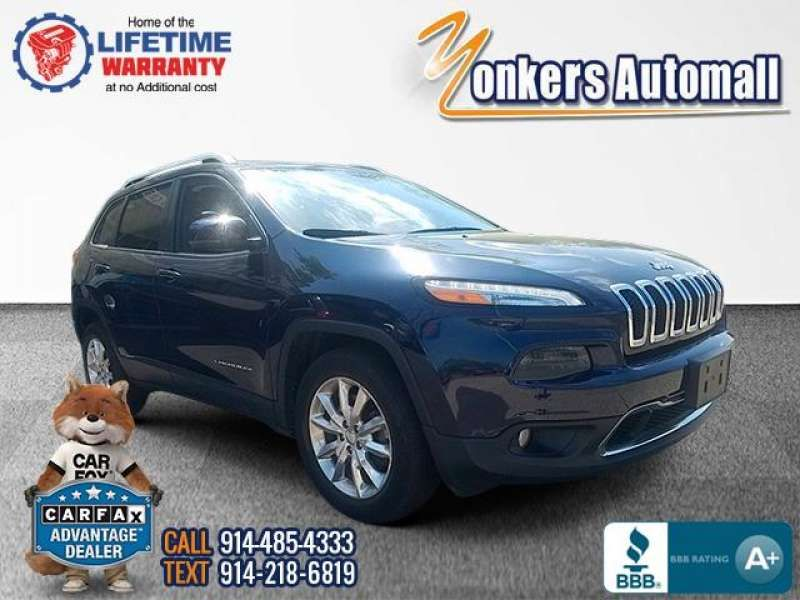 Used/Pre-owned 2016 JEEP CHEROKEE 4WD 4dr Limited Bronx,NY