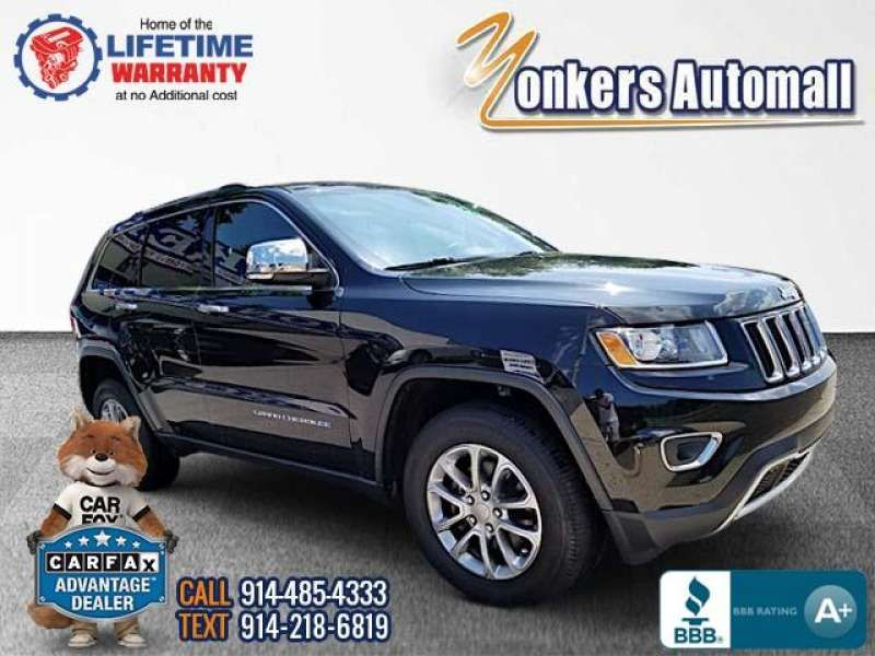 Used/Pre-owned 2016 JEEP GRAND CHEROKEE 4WD 4dr Limited Bronx,NY
