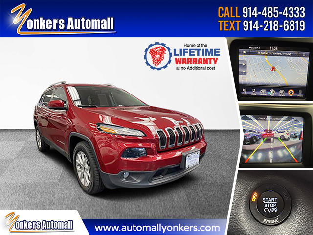 Used/Pre-owned 2016 Jeep Cherokee 4WD 4dr Latitude Bronx,NY