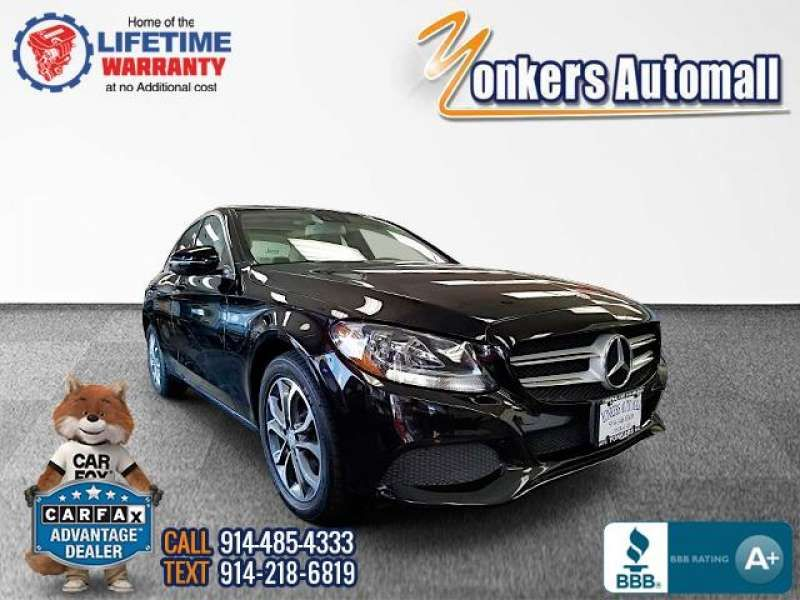 Used/Pre-owned 2016 MERCEDES-BENZ C-CLASS C300 4MATIC Sedan Bronx,NY