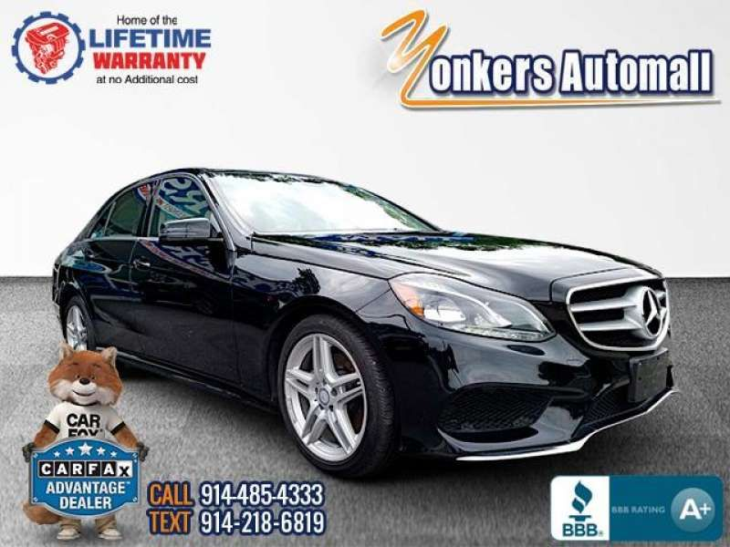 Used/Pre-owned 2016 MERCEDES-BENZ E-CLASS E350 4MATIC Sport Sedan Bronx,NY