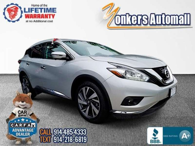 Used/Pre-owned 2016 NISSAN MURANO AWD 4dr Platinum Bronx,NY