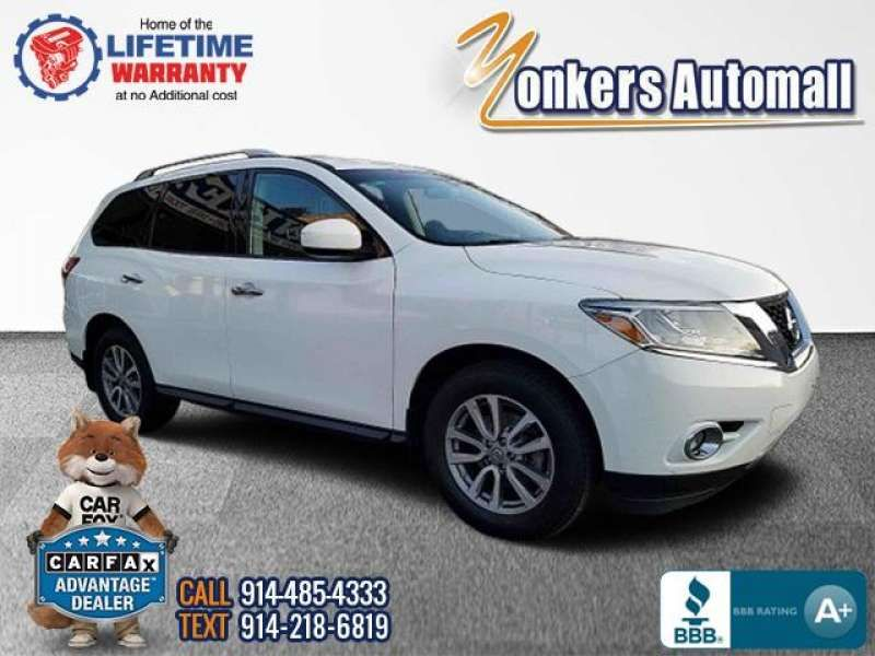 Used/Pre-owned 2016 NISSAN PATHFINDER 4WD 4dr SV Bronx,NY