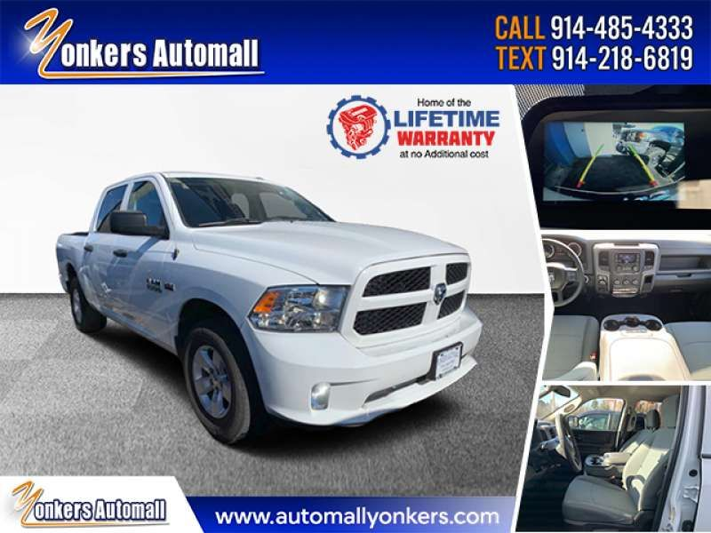 Used/Pre-owned 2016 RAM 1500 4WD Crew Cab 140.5