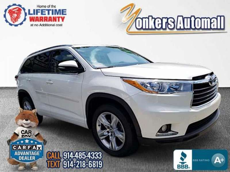Used/Pre-owned 2016 TOYOTA HIGHLANDER AWD 4dr V6 Limited  Bronx,NY