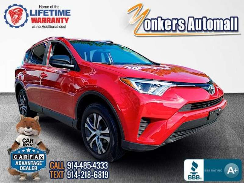 Used/Pre-owned 2016 TOYOTA RAV4 AWD 4dr LE (Natl) Bronx,NY