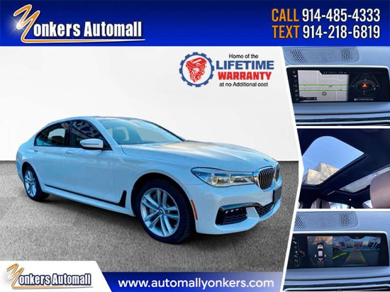 Used/Pre-owned 2017 BMW 7 SERIES 750i xDrive MSport Bronx,NY