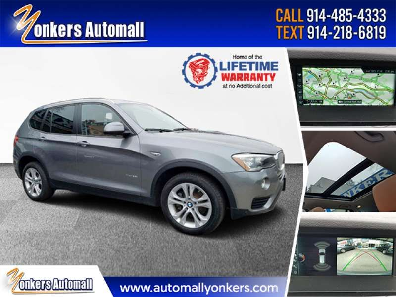 Used/Pre-owned 2017 BMW X3 xDrive35i Sports Activity Vehi Bronx,NY