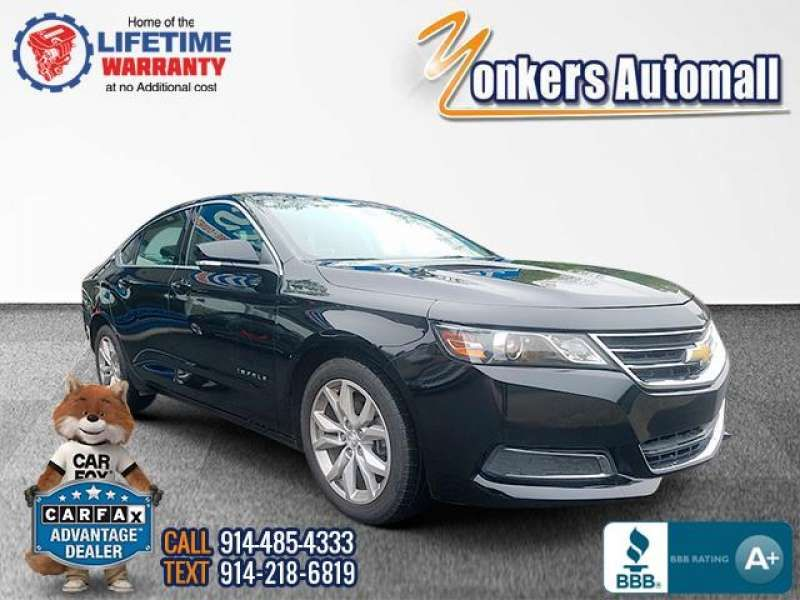 Used/Pre-owned 2017 CHEVROLET IMPALA 4dr Sdn LT w/1LT Bronx,NY