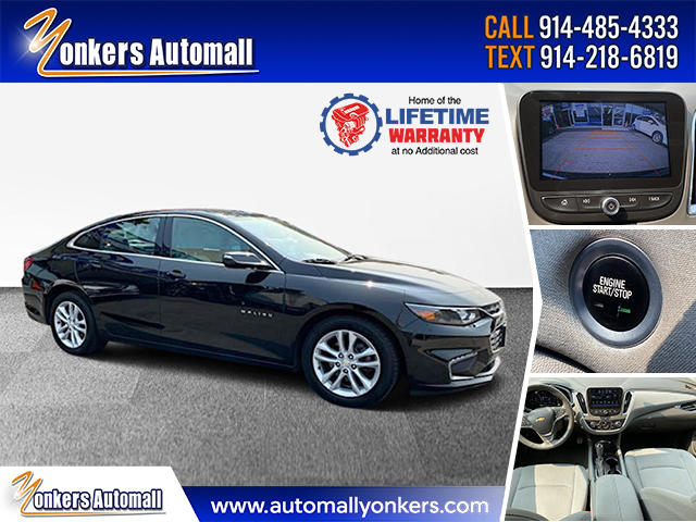 Used/Pre-owned 2017 Chevrolet Malibu 4dr Sdn LT w/1LT Bronx,NY