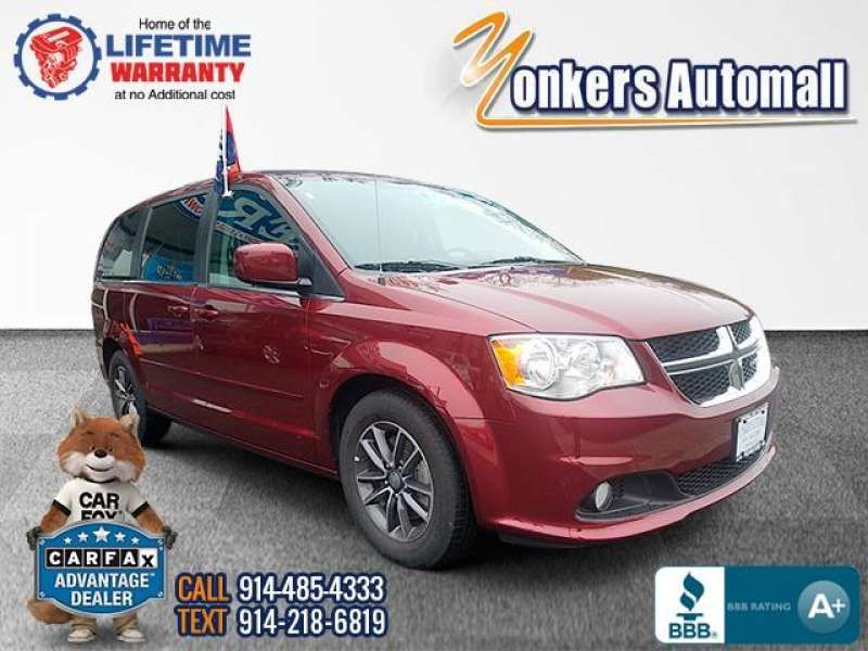 Used/Pre-owned 2017 DODGE GRAND CARAVAN SXT Wagon Bronx,NY