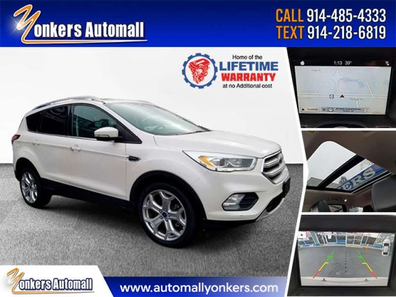 Used/Pre-owned 2017 FORD ESCAPE Titanium 4WD Bronx,NY